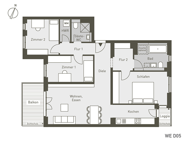 The Link | D05 | 4-Zimmer | 101.49 m²