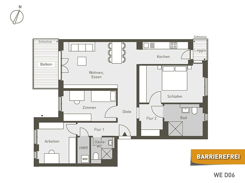 The Link | D06 | 4-Zimmer | 100.96 m²
